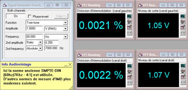 McIntosh C29 : IMD-a-1v-en-sortie-entree-aux