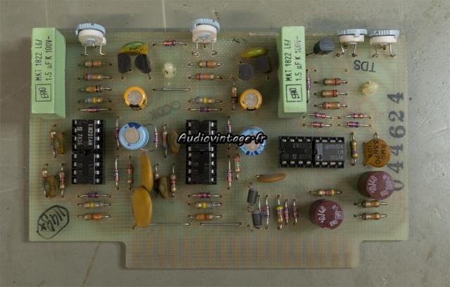 McIntosh MC2205 : circuit vumètre à revoir.