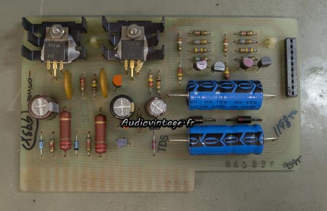 McIntosh MC2205 : circuit alimentation révisé.