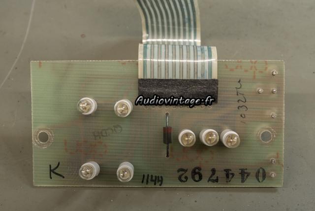 McIntosh MC2205 : circuit éclairage révisé.