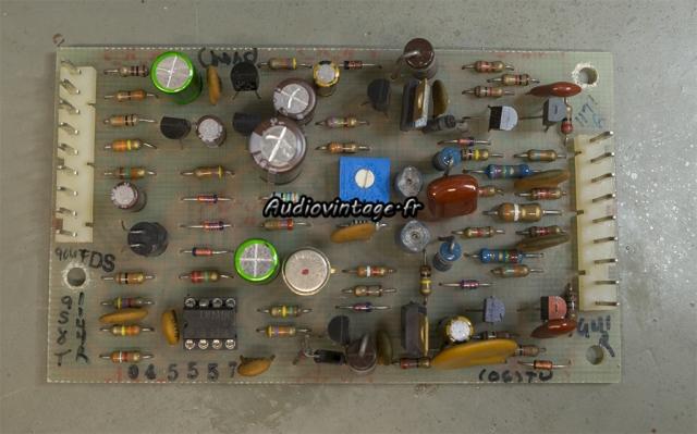 McIntosh MC2205 : circuit driver révisé.