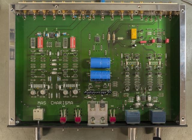 Metaxas Charisma : condensateurs remplacés.