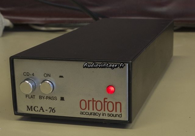Ortofon MCA-76 : un pré-pré attachant.