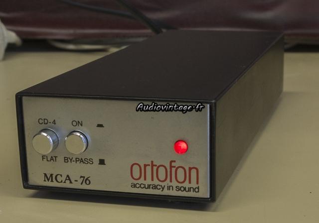 Ortofon MCA-76 : un pré-pré attachant.
