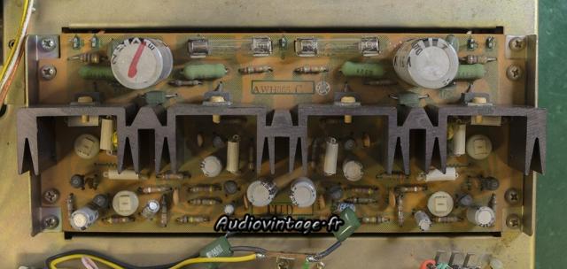 Pioneer SA-500A : circuit driver à revoir.