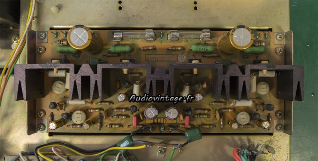 Pioneer SA-500A : circuit driver revu.