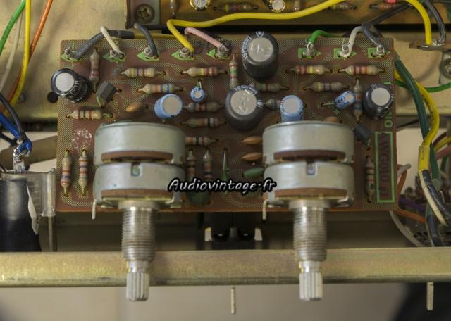 Pioneer SA-500A : circuit tonalité à revoir.