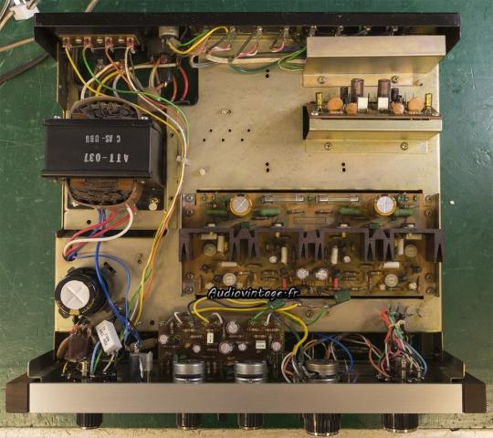 Pioneer SA-500A : terminé.