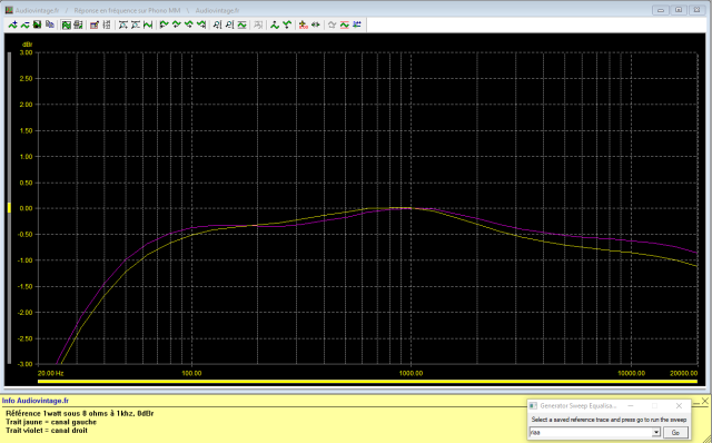 Pioneer SA-500A : réponse-en-fréquence-à-2x1w-sous-8-ohms-entrée-phono