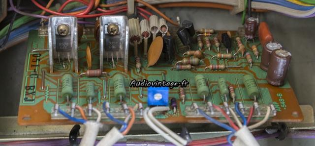 Pioneer SA-8500 II : circuit driver révisé.