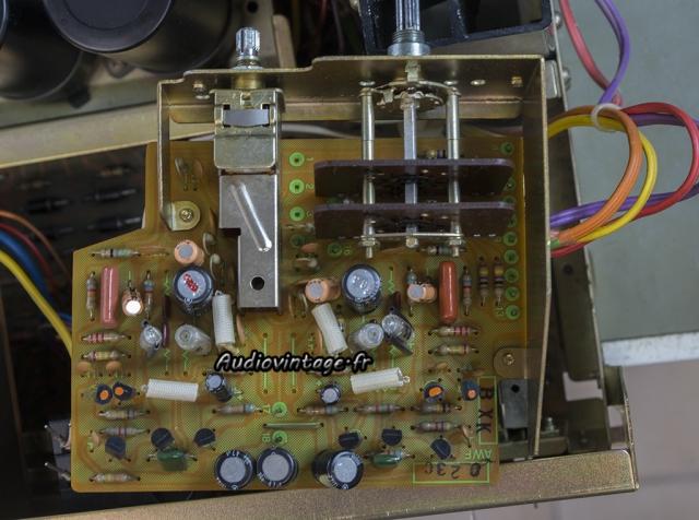 Pioneer SA-8500 II : étage phono à revoir.