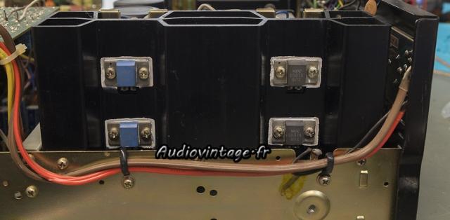 Pioneer SA-8500 II : graisse fraiche.