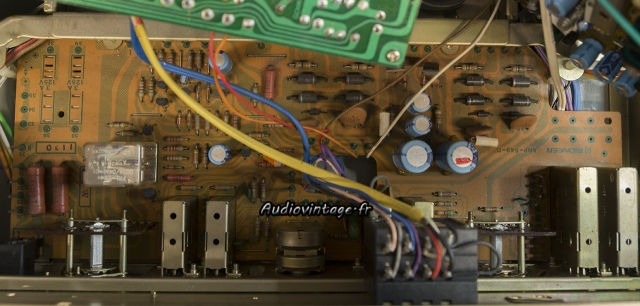 Pioneer SA-8500 II : circuit principal à réviser.