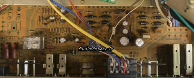 Pioneer SA-8500 II : circuit principal en cours de révision.