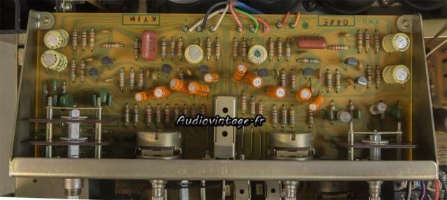 Pioneer SA-8500 II : circuit tonalité à revoir.
