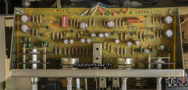 Pioneer SA-8500 II : circuit tonalité revu.