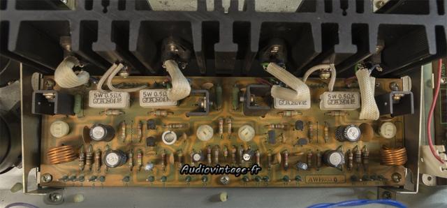 Pioneer SX-737 : circuit driver à revoir.