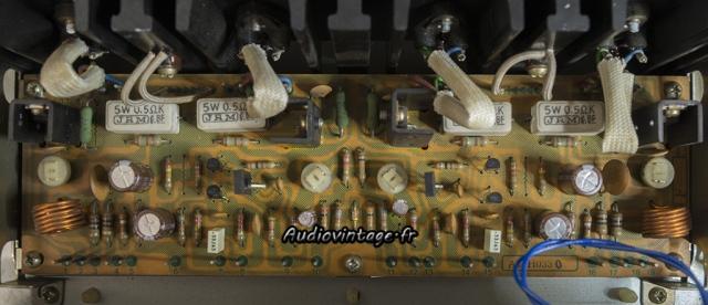 Pioneer SX-737 : circuit driver révisé.