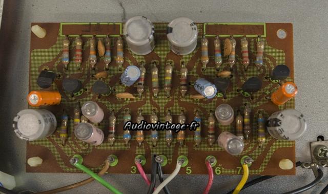 Pioneer SX-737 : circuit phono à revoir.