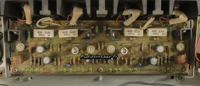 "Pioneer SX-737  : circuit ""driver"" à revoir."