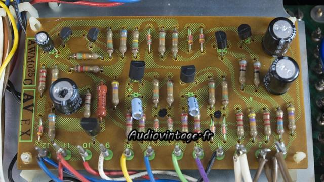 Pioneer SX-737  : circuit de protection à revoir.