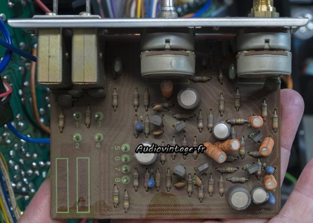 Pioneer SX-737  : circuit de tonalité à revoir.