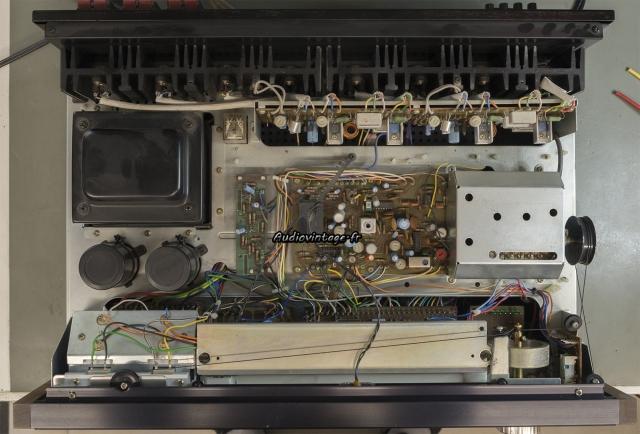 Pioneer SX-9930 : à son arrivée.