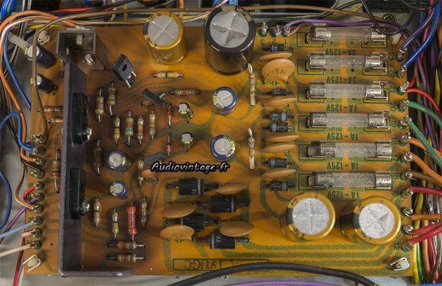 Pioneer SX-9930 : alimentation révisée.