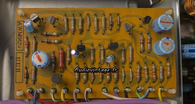 Pioneer SX-9930 : circuit de protection à revoir.