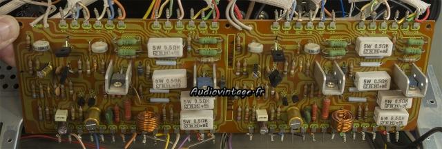 Pioneer SX-9930 : circuit driver révisé.