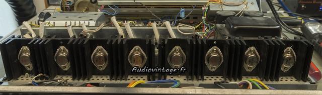 Pioneer SX-9930 : micas neufs, graisse fraiche.
