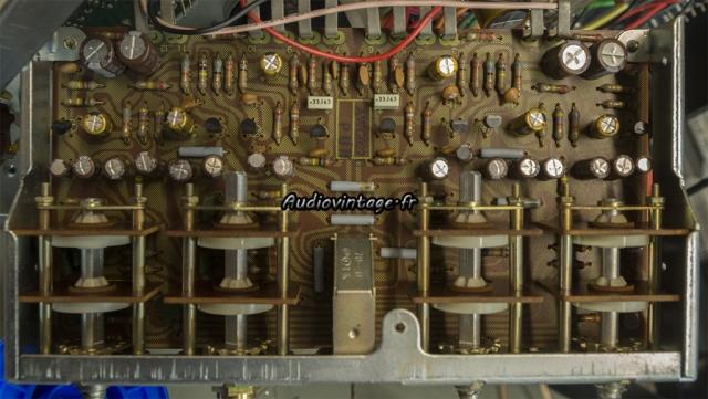 Pioneer SX-9930 : étage de tonalité révisé.