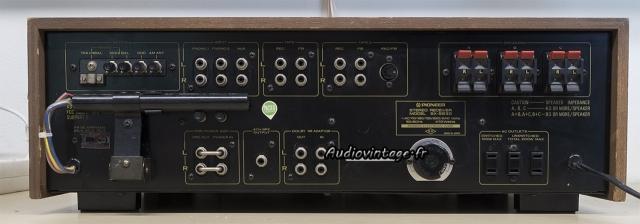 Pioneer SX-9930 : connectique.