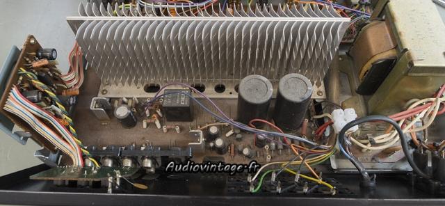 Pioneer SA-608 : alimentation et protection à revoir.