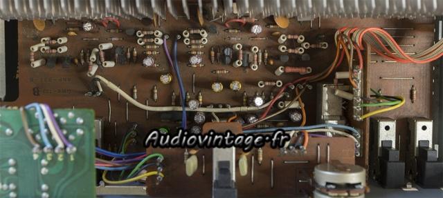 Pioneer SA-608 : condensateurs chimiques remplacés, ainsi que certains transistors.