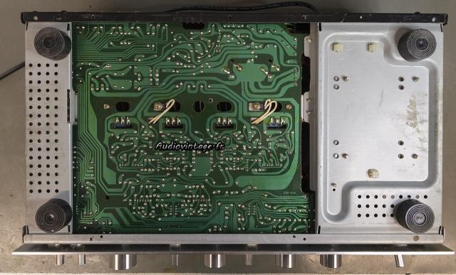 Pioneer SA-608 : toutes les soudures refaites.