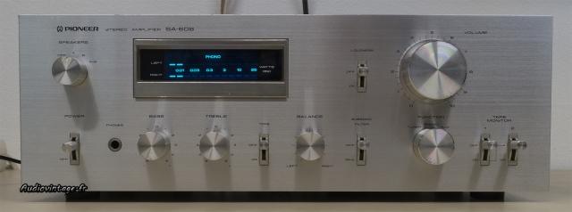 Pioneer SA-608 : présentation soignée, la clef du succès.