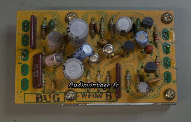Pioneer SA-9100 : étage phono à revoir.