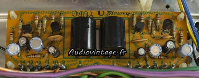 Pioneer SA-9100 : circuit filtre à revoir.