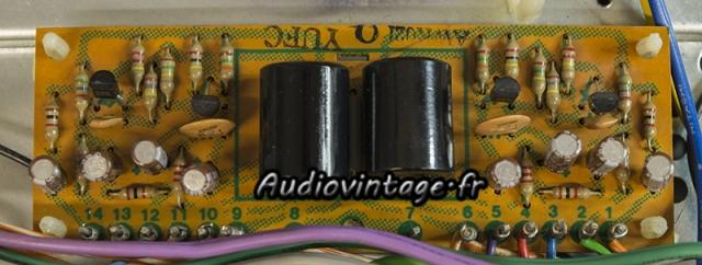 Pioneer SA-9100 : circuit filtre révisé.