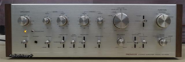 Pioneer SA-9100 : une très belle présentation.