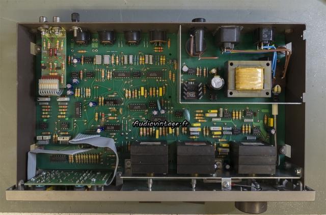 Quad 34 : condensateurs chimiques remplacés.