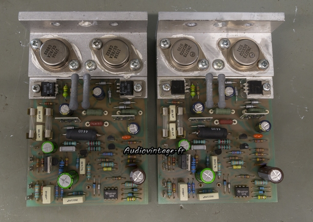 Quad 405-2 : circuit révisés.