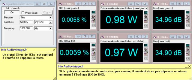 Quad 405-2 : distorsion-a-2x1w-sous-8-ohms
