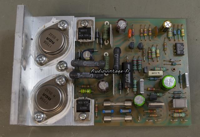 Quad 405-2 : circuit amplificateur révisé.