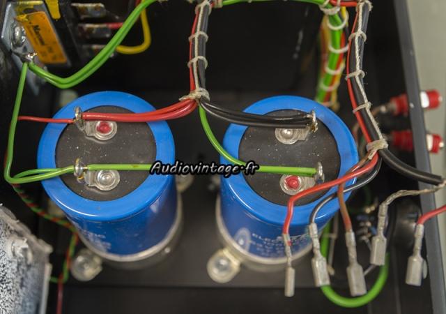 Quad 405-2 : capas de filtrage à remplacer.