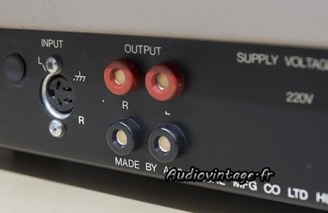 Quad 405-2 : borniers HP neufs montés.