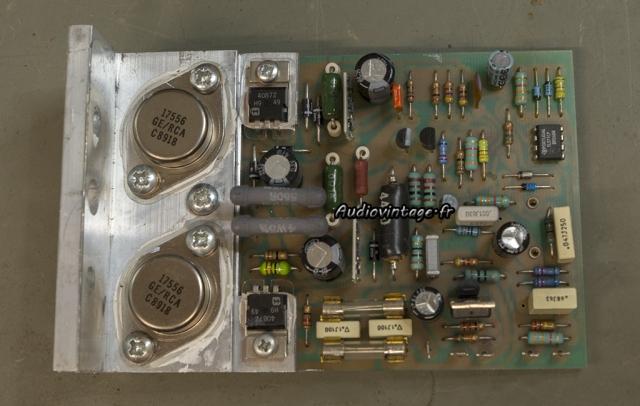 Quad 405-2 : circuit d'amplification à réviser.
