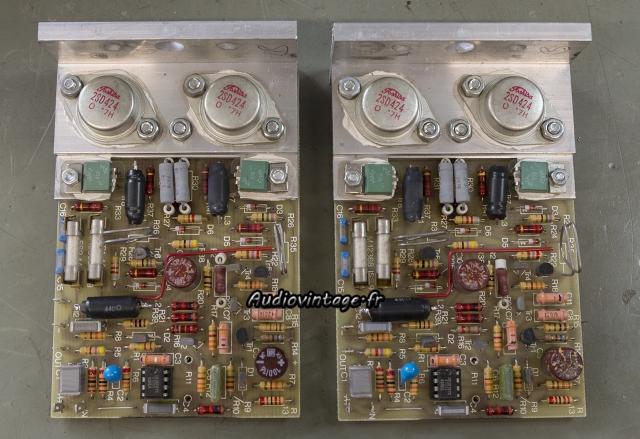 Quad 405 : circuits d'amplification à revoir.