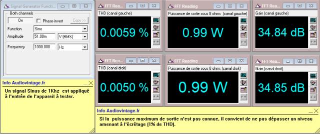 Quad 405 : distorsion-a-2x1w-sous-8-ohms